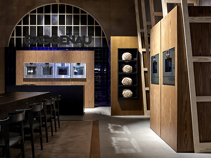 Gaggenau stand at biennale interieur 2014 by creneau for Interieur belgium