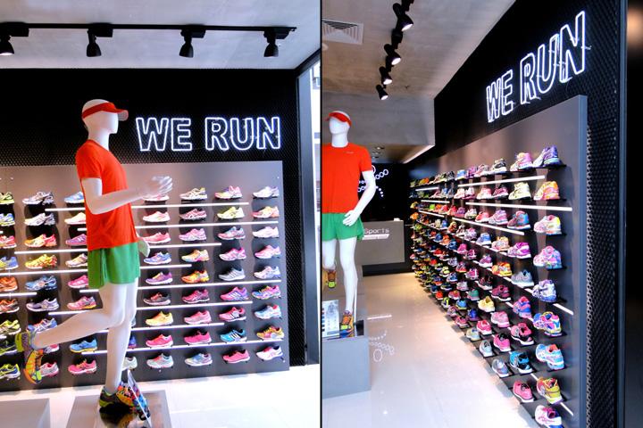 巴西南卡希亚斯–Arquitetura跑步鞋专卖店设计