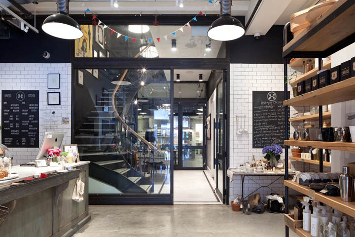 Haven s kitchen store and restaurant by turett for Kitchen design shops