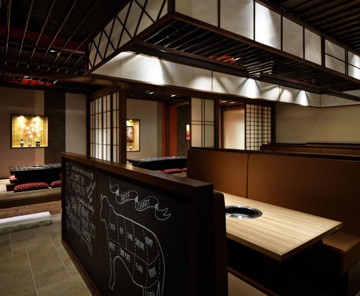 Retail design — heijouen yakiniku restaurant by hako