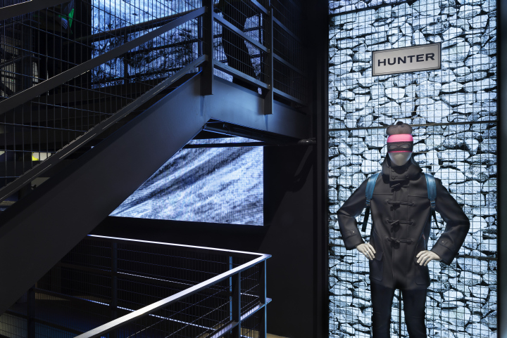 英国伦敦猎人服装旗舰店设计