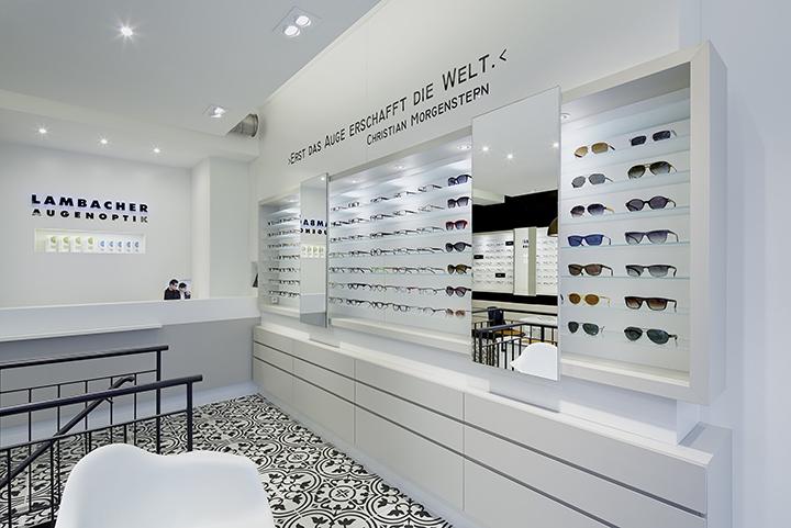 德国普福尔茨海姆Lambacher眼镜店设计