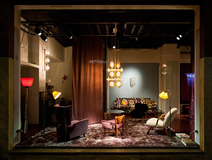 米兰nilufar家具展厅设计