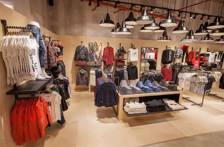 |服装店面设计|专卖店设计