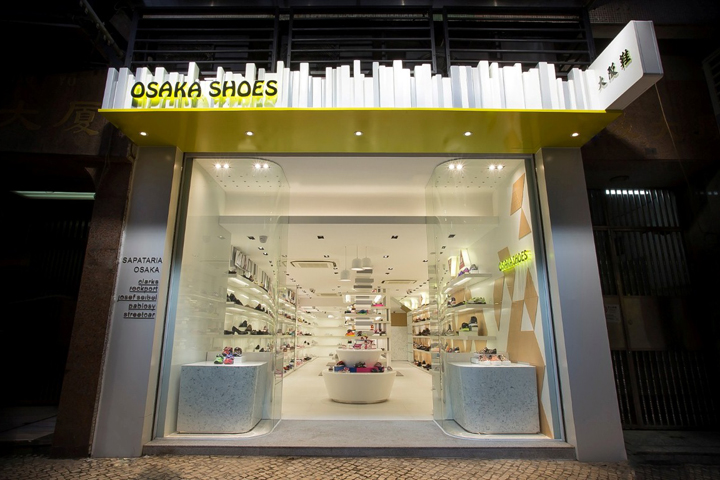 For Several Decades History Is Retailer Which A Famous Label Osaka Shoes In Macau Interior Design Strategy Adopted Was To Re Interpret The Brand