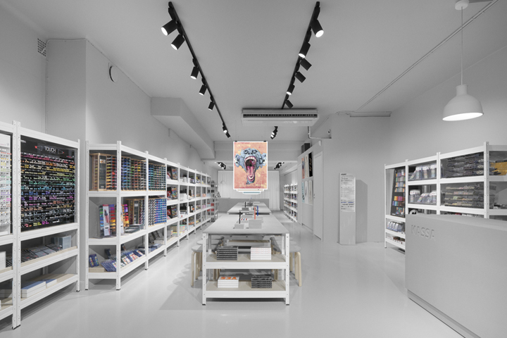 The Pen Store Is A New Retail Space That Behaves Like Shop Gallery An Atelier And Supplier Warehouse Brand Experience Designed By Form Us
