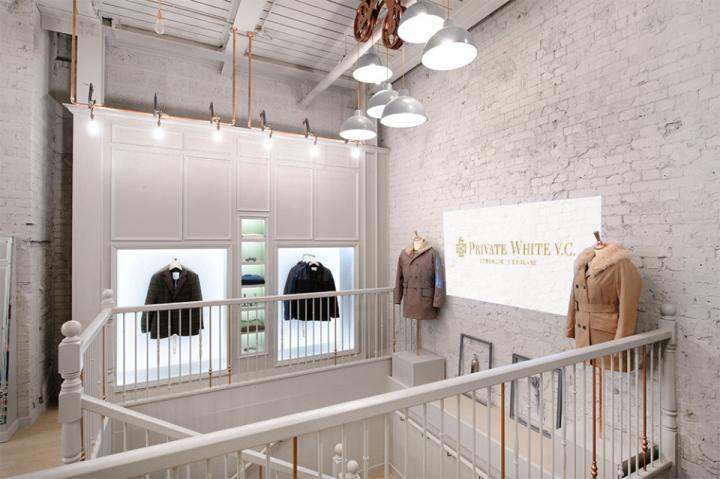 c.工业风格服装店铺设计