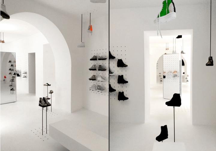 意大利罗马–Ruco Line鞋店设计