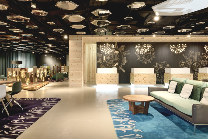 The New Lobby At Is A Prime Example Of Swisstel Design Philosophy Uniting Contemporary Swiss With Traditional Craftsmanship