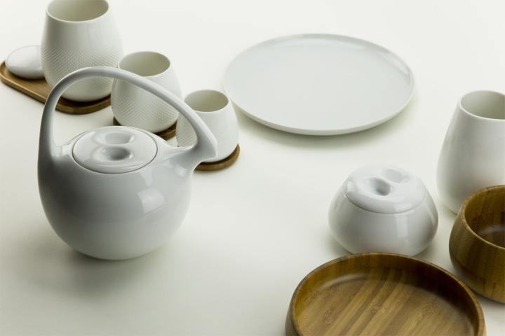 Tea Set Cha By Federica Capitani For Rosenthal Studio Line