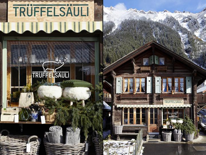 瑞士Trüffelsäuli 概念生态生活馆设计
