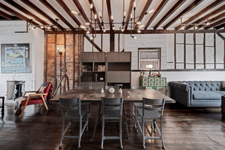 Urban cowboy bed and breakfast by lyon porter new york for Interieur loft new york
