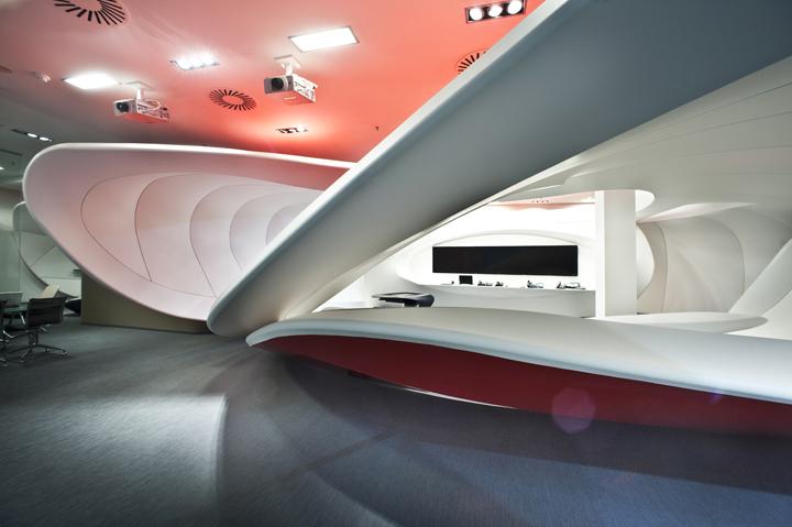 捷克共和国布拉格–沃达丰的客户体验中心设计