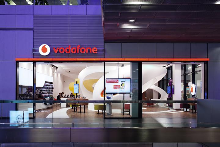 187 Vodafone Data Store By Io Studio Ostrava Czech Republic