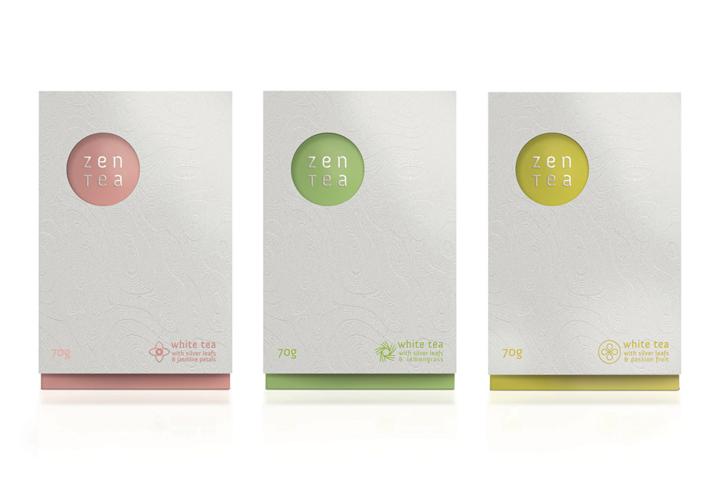 Zen Tea branding packaging by Konrad Sybilski Zen Tea branding & packaging by Konrad Sybilski