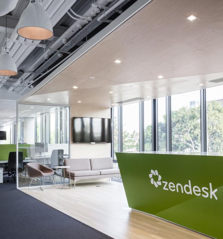 zendesk office by blitz dublin ireland retail design blog