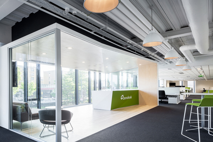 zendesk office by blitz dublin ireland retail design blog