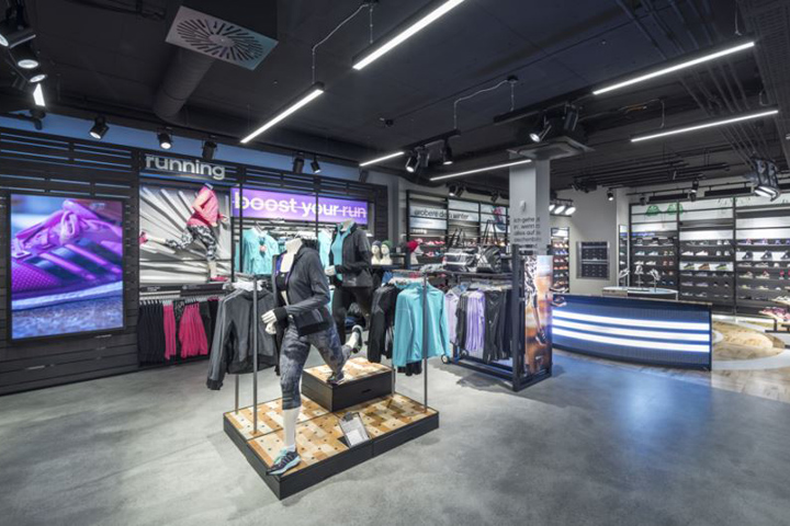 adidas HomeCourt store, Nuremberg – Germany