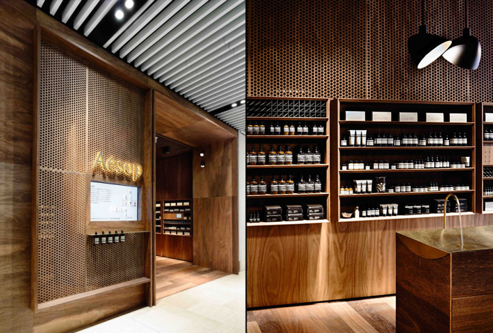 Aesop Store By Kerstin Thompson Architects Melbourne