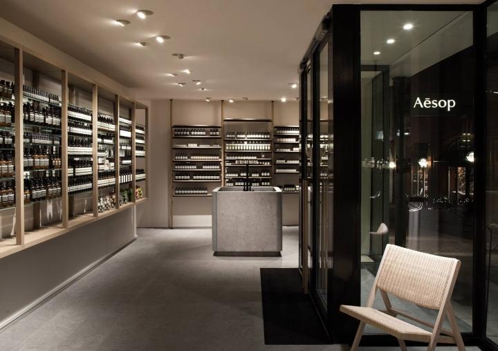 Aesop store by vincent van duysen hamburg germany for Design shop deutschland