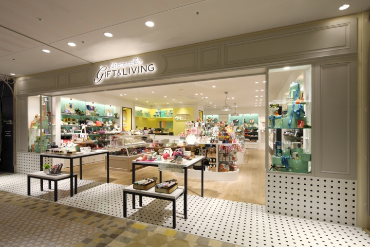 Afternoon Tea Living s first shop dedicated to gift ideas has opened in  Atre Ebisu  The shop was designed as to evoke the image of a box full of  colorful. Afternoon Tea Gift   Living Store by HEADSTARTS  Tokyo   Japan
