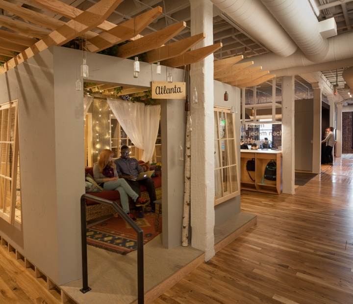 Airbnb Headquarters Portland Oregon January 19th 2015 By Retail Design Blog