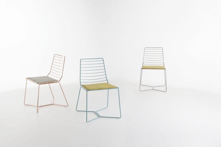 187 Antia Chair By Alpestudio Architetti Associati For
