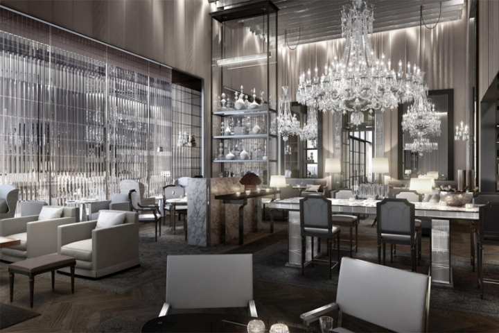 Baccarat hotel new york city retail design blog for City hotel design