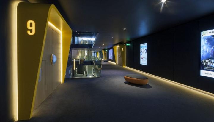 法国卡帕特尔电影院设计