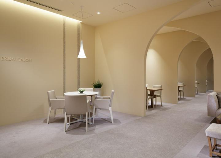 Bridal salon by ryo matsui architects kumamoto japan for Wedding salon