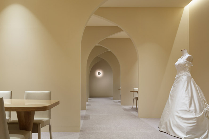 日本bridal婚纱店设计