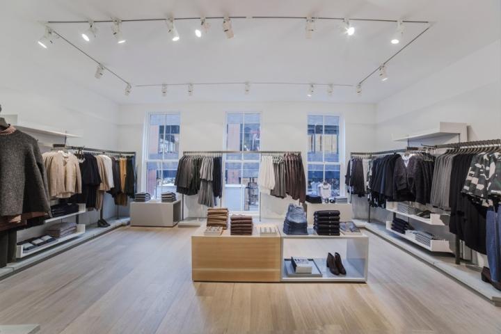 纽约市COS简约男装旗舰店设计