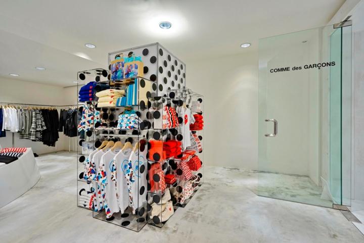 香港Comme服装店设计