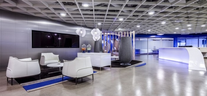 Cornerstone Ondemand Headquarters By S K I N Design Studio