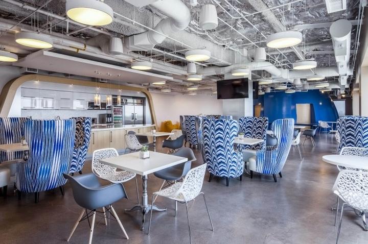 187 Cornerstone Ondemand Headquarters By S K I N Design