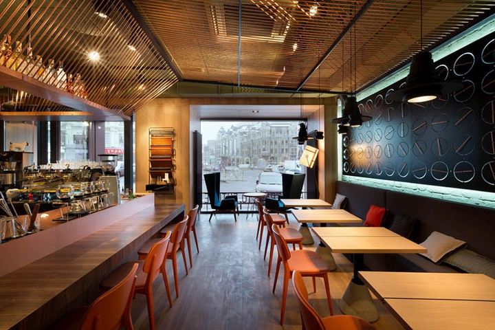 Dogatedove restaurant by yod design lab kiev ukraine