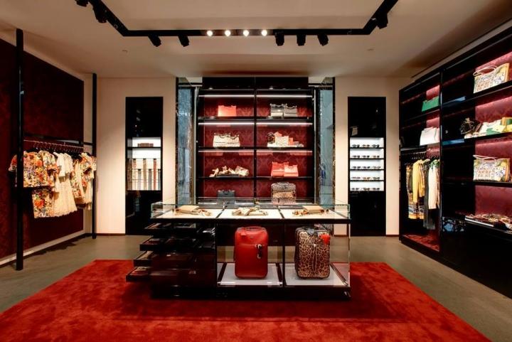 新加坡Dolce男装旗舰店设计