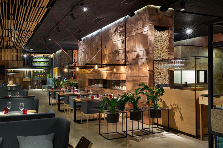 Food forest park restaurant by yod design lab poltava