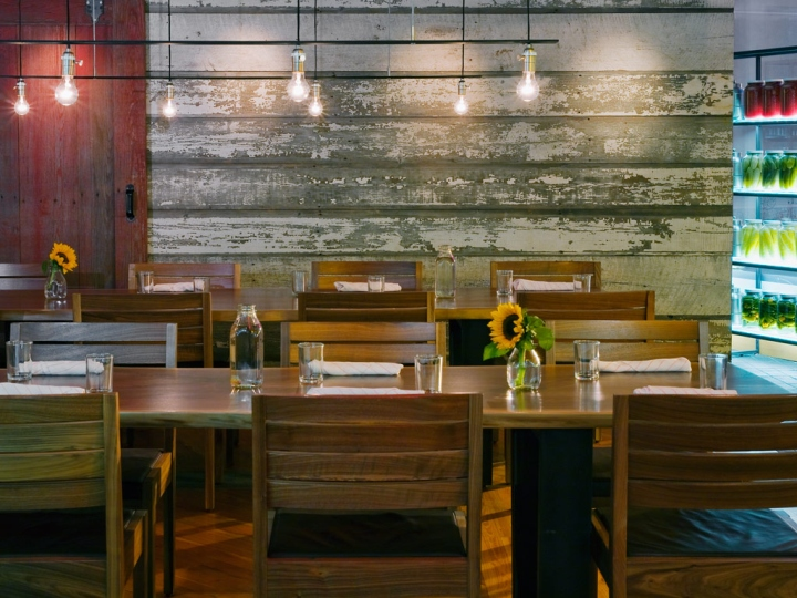 Founding farmers casual dining restaurant by core