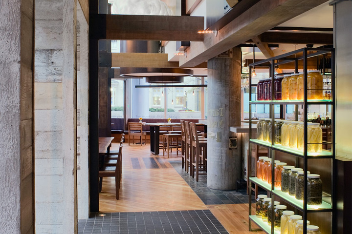 Founding Farmers Casual Dining Restaurant By Core Architecture Washington DC January 26th 2015 Retail Design Blog