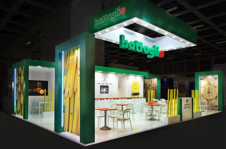 Gruppo battaglio stand by gran torino design at fruit logistica berlin germany retail - Design fair ...
