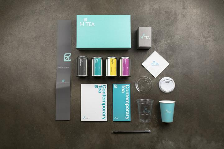 » H Tea packaging by minimalist