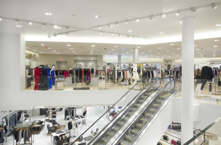 Holt Renfrew Store Lighting By Suzanne Powadiuk Design In
