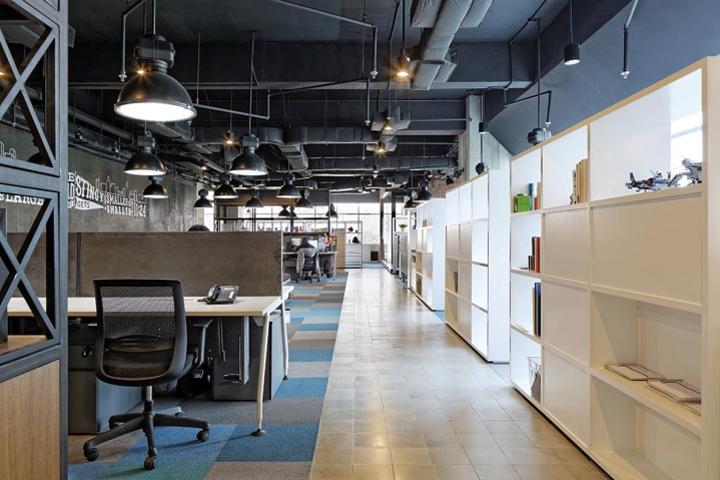 Jpcc office by sidharta architect jakarta indonesia for Office design jakarta