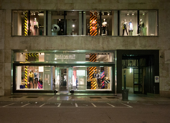 187 Just Cavalli Fashion Week Windows 2014 Milan Italy