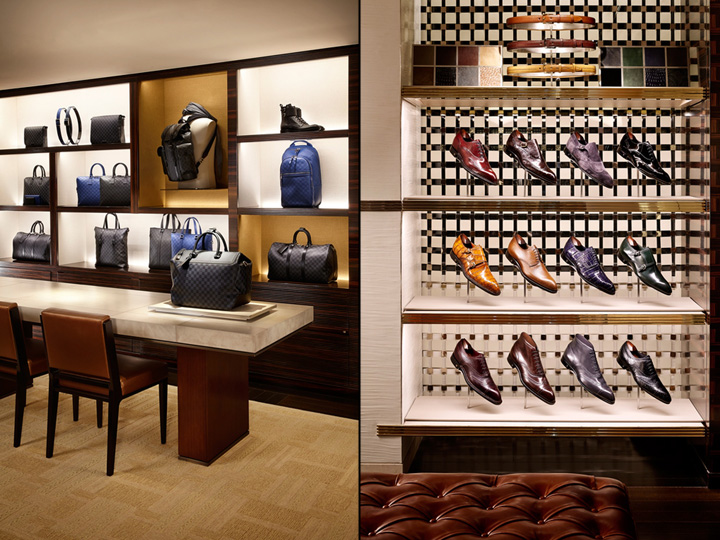 louis vuitton store by peter marino paris france retail design blog. Black Bedroom Furniture Sets. Home Design Ideas
