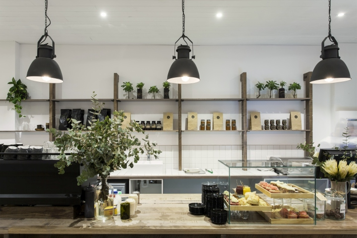 the design captures a contemporary balance combining vintage with modern constructed from locally sourced reclaimed and weathered timbers the main cafe australia scandinavian design