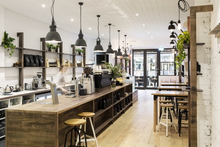 Lucky Penny Cafe Restaurant By Biasol Design Studio Melbourne Australia