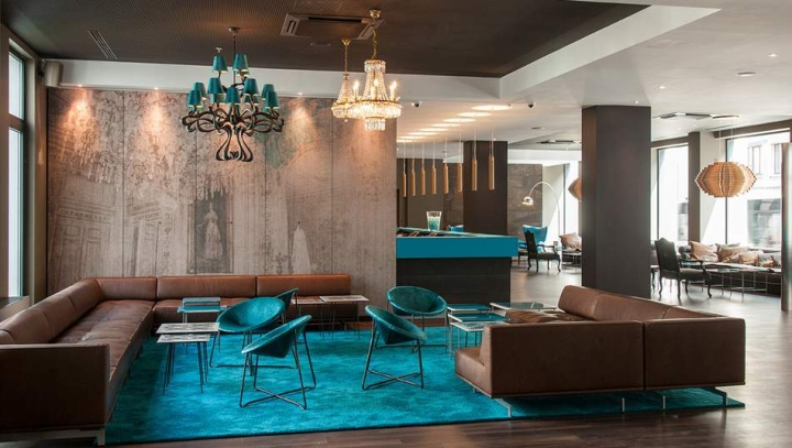Motel one brussels belgium retail design blog for Designhotel antwerpen