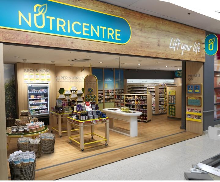 英国伦敦NutriCentre食品店设计
